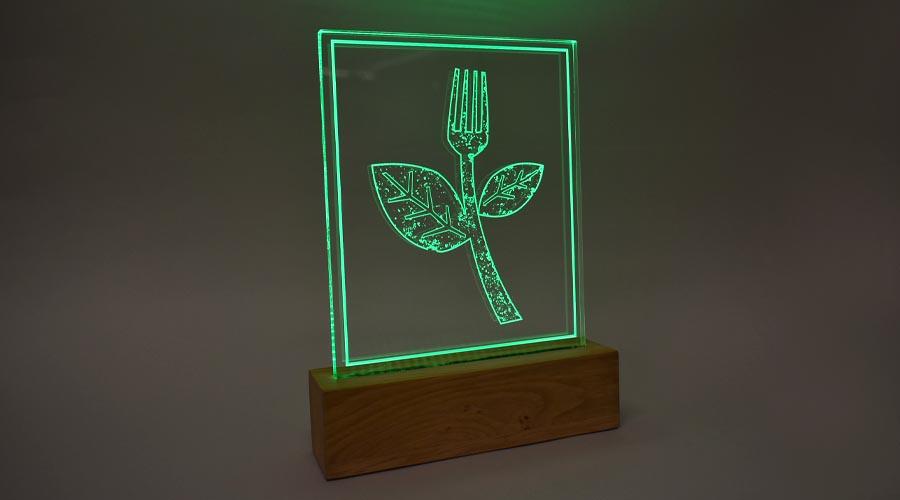 Flexicon licht award aan in het donker